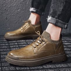 Redrunner - 純色繫帶鞋