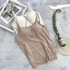 Goldenes - Strappy Padded Top