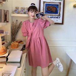 Whoosh - Puff-Sleeve Shift Dress