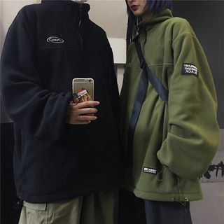 Banash(バナッシュ) - Couple Matching Embroidered Pullover