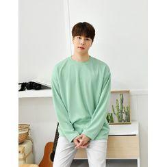 GERIO(ゲリオ) - Round-Neck Colored T-Shirt