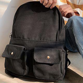 SUNMAN - 口袋帆布背包