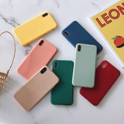 Galeon - Funda para móvil lisa - iPhone 6 / 6 Plus / 7 / 7 Plus / 8 / 8 Plus / X/ XR / XS / XS MAX