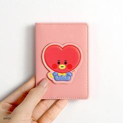 BABOSARANG - 'BT21' Patterned Card Wallet with Sticker