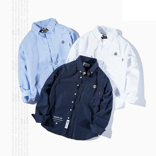 Simplice(シンプリス) - Embroidered Shirt