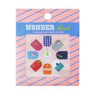 TONYMOLY - Wonder Pool Tonynail Deco Parts Sticker 1pc