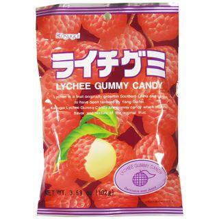 Kasugai - Lychee Gummy (individually wrapped) 102g