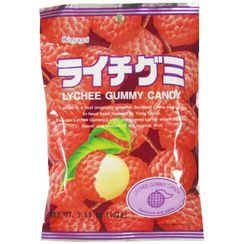 Kasugai - Lychee Gummy (individually wrapped) 102g