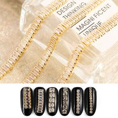 WGOMM - Rhinestone Chain Nail Art Decoration