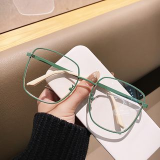 MOL Girl - Oversize Square Frame Glasses