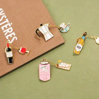 KIITOS - Food / Drinks Brooch (various designs)