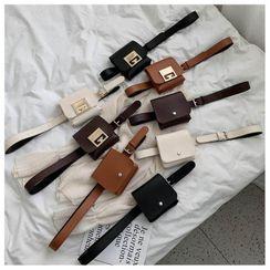 Shimme - Mini Flap Belt Bag