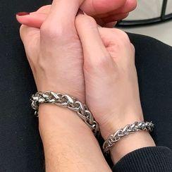 PANGU - Stainless Steel Chunky Chain Bracelet