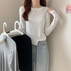 Magimomo - Long-Sleeve Button-Up T-Shirt