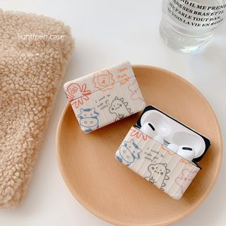 Handy Pie - Animal Printed AirPods / Pro Earphone Case Cover