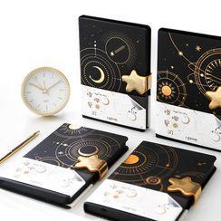 Ms Zaa - Galaxy Printed Notebook