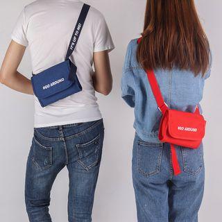 Lezi Bags - Lettering Crossbody Bag