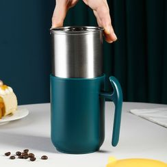 Home Simply - Stainless Steel Mug with Lid