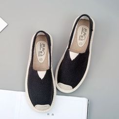 Shusi - Canvas Slip-Ons