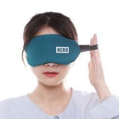 Home Simply - Lettering Cooling Sleeping Eye Mask