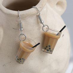 JAMIEL - Bubble Tea Clip-On Earring / Earring