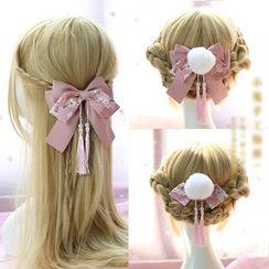 Elfis(エルフィス) - Bow Hair Band / Hair Tie / Hair Clip / Hair Barrette