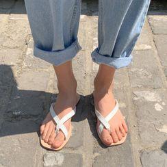MERONGSHOP - Toe-Loop Flip-Flops