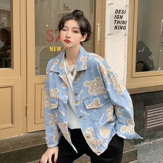 Closette - Bear Denim Jacket