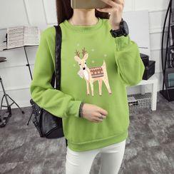 Elbelier - Printed Pullover
