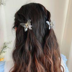 Gold Beam - Schmetterling-Haarspange