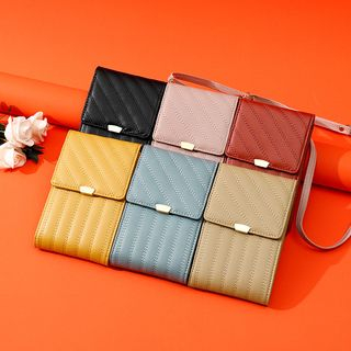 Taomicmic - Faux Leather Crossbody Pouch