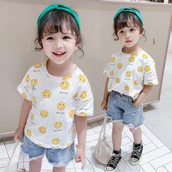 Ohori - 小童短袖卡通印花T裇