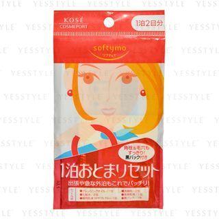 Kose - Softymo 1 Night Face Care Travel Set