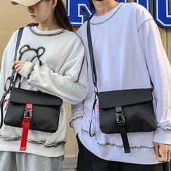 SUNMAN(サンマン) - Nylon Snap Buckle Crossbody Bag