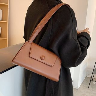 NewTown - Faux Leather Shoulder Bag