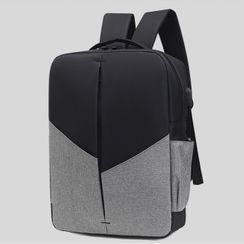 Perlin - Set: Nylon Backpack + Crossbody Bag + Pouch