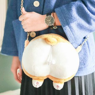 Cute Essentials - Corgi Coin Purse/ Crossbody Bag