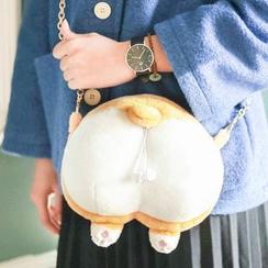 Cute Essentials(キュートエッセンシャルズ) - コーギー小銭入れ/斜め掛けバッグ