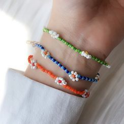 Dollu - Bead Flower Bracelet