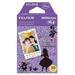 Fujifilm(富士フイルム) - FUJIFILM インスタントカメラ チェキ用フィルム 10枚入 絵柄 (ふしぎの国のアリス)