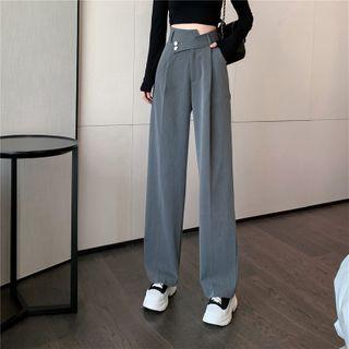 Magma - High-Waist Wide-Leg Dress Pants