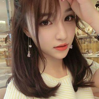 Jael - Floral Threader Earrings