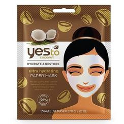 Yes To - Yes To Coconut: Ultra Hydrating Paper Mask (Single Pack)