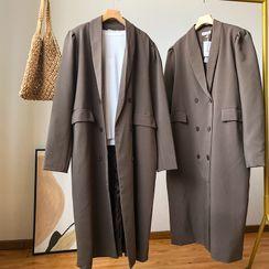 irroro - Double-Breasted Midi Coat