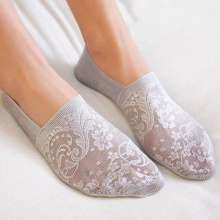 Bakash - Lace No-Show Socks