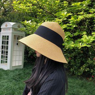Cheza - Foldable Straw Bucket Hat