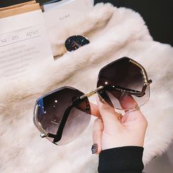 MOL Girl - 方形超大框太陽眼鏡