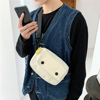SUNMAN - Mini Canvas Crossbody Bag