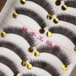美麗小鋪 - 假眼睫毛 (X6) (10對)