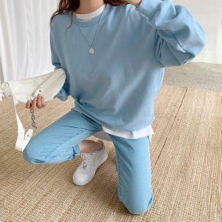 DEEPNY - Boxy-Fit Sweatshirt in 12 Colors